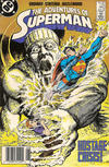 Cover for Adventures of Superman (DC, 1987 series) #443 [Canadian Newsstand Pricing]