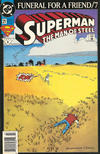 Cover Thumbnail for Superman: The Man of Steel (1991 series) #21 [Newsstand Edition]