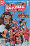 Cover Thumbnail for Justice League of America (1960 series) #222 [Canadian Newsstand]