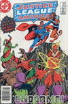 Cover Thumbnail for Justice League of America (1960 series) #223 [Canadian Newsstand]