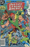 Cover Thumbnail for Justice League of America (1960 series) #241 [Canadian Newsstand]