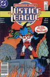 Cover Thumbnail for Justice League International (1987 series) #9 [Canadian Newsstand]