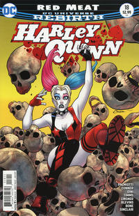Cover Thumbnail for Harley Quinn (DC, 2016 series) #18 [Amanda Conner Cover Variant]