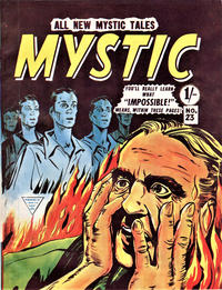 Cover Thumbnail for Mystic (L. Miller & Son, 1960 series) #23