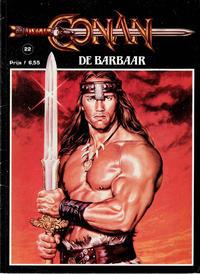 Cover Thumbnail for Conan de barbaar (JuniorPress, 1984 series) #22