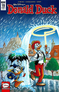 Cover Thumbnail for Donald Duck (IDW, 2015 series) #19 / 386 [10 Copy Retailer Incentive Cover]