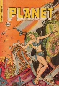 Cover Thumbnail for Planet Comics (H. John Edwards, 1950 ? series) #14