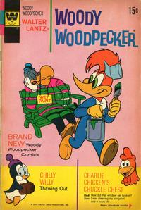 Cover Thumbnail for Walter Lantz Woody Woodpecker (Western, 1962 series) #120 [Whitman]