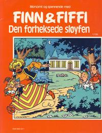 Cover Thumbnail for Finn & Fiffi (Skandinavisk Presse, 1983 series) #17/1985 - Den forheksede sløyfen