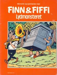 Cover Thumbnail for Finn & Fiffi (Skandinavisk Presse, 1983 series) #3/1986 - Lydmonsteret