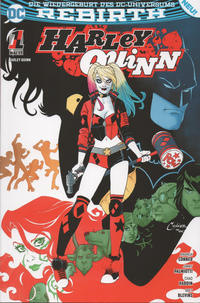 Cover Thumbnail for Harley Quinn (Panini Deutschland, 2017 series) #1 - Zombie-Attacke