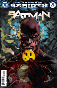 Cover Thumbnail for Batman (DC, 2016 series) #21 [Jason Fabok Lenticular Variant]