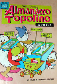 Cover Thumbnail for Almanacco Topolino (Arnoldo Mondadori Editore, 1957 series) #208