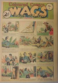 Cover Thumbnail for Wags [Australia] (Editors Press Service, 1936 series) #v3#1