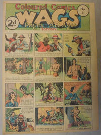Cover Thumbnail for Wags [Australia] (Editors Press Service, 1936 series) #v3#3