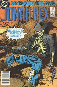 Cover Thumbnail for Jonah Hex (DC, 1977 series) #92 [Canadian]