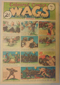 Cover Thumbnail for Wags [Australia] (Editors Press Service, 1936 series) #v3#7