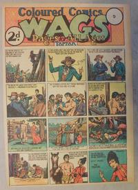 Cover Thumbnail for Wags [Australia] (Editors Press Service, 1936 series) #v2#9