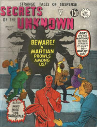 Cover Thumbnail for Secrets of the Unknown (Alan Class, 1962 series) #171