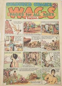Cover Thumbnail for Wags [Australia] (Editors Press Service, 1936 series) #v1#40