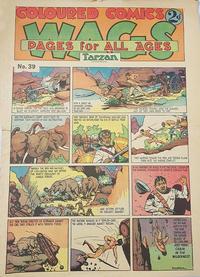 Cover Thumbnail for Wags [Australia] (Editors Press Service, 1936 series) #v1#39