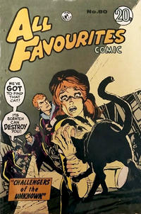 Cover Thumbnail for All Favourites Comic (K. G. Murray, 1960 series) #80