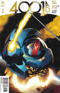 Cover Thumbnail for 4001 A.D. (Valiant Entertainment, 2016 series) #1 [Cover H - Ryan Sook]