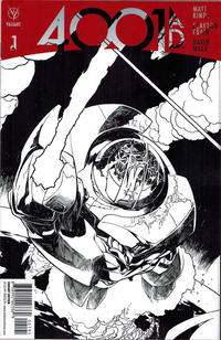 Cover Thumbnail for 4001 A.D. (Valiant Entertainment, 2016 series) #1 [Cover I - Ryan Sook Sketch]