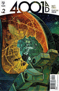 Cover for 4001 A.D. (Valiant Entertainment, 2016 series) #2 [Cover F - Ryan Lee]