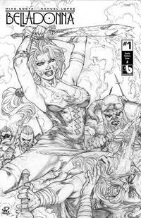 Cover Thumbnail for Belladonna (Avatar Press, 2015 series) #1 [Century Nude A - Renato Camilo Cover]
