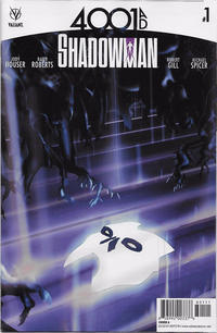 Cover Thumbnail for 4001 A.D.: Shadowman (Valiant Entertainment, 2016 series) #1 [Cover A - Travel Foreman]