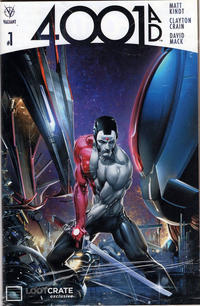 Cover Thumbnail for 4001 A.D. (Valiant Entertainment, 2016 series) #1 [LootCrate Exclusive - Clayton Crain]
