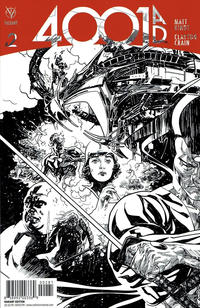 Cover for 4001 A.D. (Valiant Entertainment, 2016 series) #2 [Cover H - Ryan Sook Sketch]