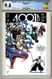 Cover Thumbnail for 4001 A.D. (Valiant Entertainment, 2016 series) #1 [Cover D - Clayton Henry]