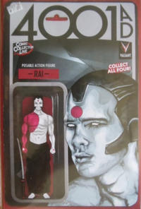 Cover Thumbnail for 4001 A.D. (Valiant Entertainment, 2016 series) #1 [Comic Collector Live Action Figure Variant - Chance Butler]