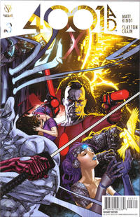 Cover Thumbnail for 4001 A.D. (Valiant Entertainment, 2016 series) #3 [Cover G - Ryan Sook]