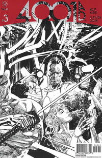 Cover Thumbnail for 4001 A.D. (Valiant Entertainment, 2016 series) #3 [Cover H - Ryan Sook Sketch]