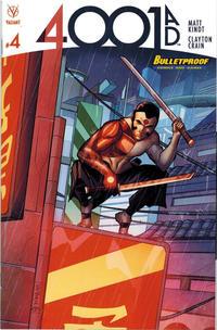Cover Thumbnail for 4001 A.D. (Valiant Entertainment, 2016 series) #4 [Bulletproof Comics and Games - Joe Eisma]