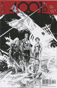 Cover Thumbnail for 4001 A.D. (Valiant Entertainment, 2016 series) #4 [Cover H - Ryan Sook Sketch]
