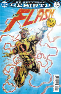 Cover Thumbnail for The Flash (DC, 2016 series) #21 [Jason Fabok Lenticular Cover]