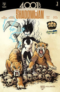 Cover Thumbnail for 4001 A.D.: Shadowman (Valiant Entertainment, 2016 series) #1 [SGR and Twin Tiers Comic-Con Exclusive]
