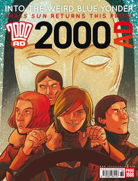 Cover Thumbnail for 2000 AD (Rebellion, 2001 series) #1888