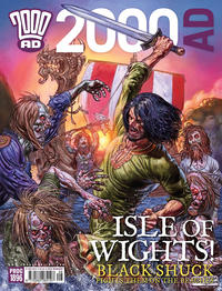 Cover Thumbnail for 2000 AD (Rebellion, 2001 series) #1896
