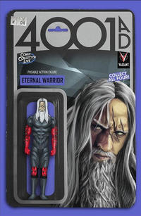 Cover Thumbnail for 4001 A.D. (Valiant Entertainment, 2016 series) #4 [Comic Collector Live Action Figure Variant]
