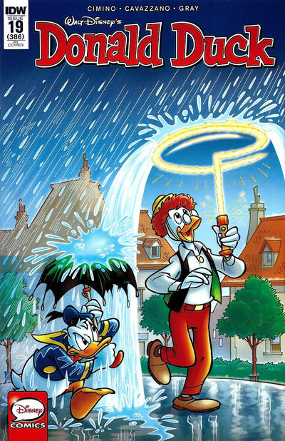Cover for Donald Duck (IDW, 2015 series) #19 / 386