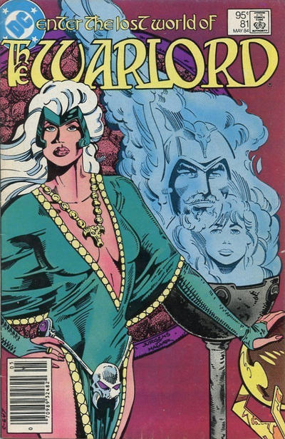 Cover for Warlord (DC, 1976 series) #81 [direct-sales]