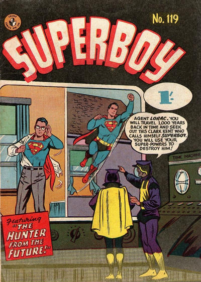 Cover for Superboy (K. G. Murray, 1949 series) #119