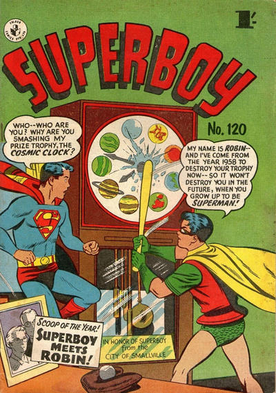 Cover for Superboy (K. G. Murray, 1949 series) #120 [1' price]