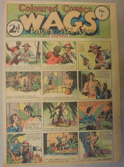 Cover for Wags [Australia] (Editors Press Service, 1936 series) #v3#3
