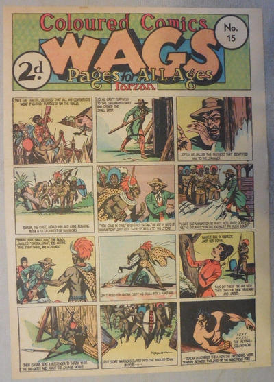 Cover for Wags [Australia] (Editors Press Service, 1936 series) #v2#15
